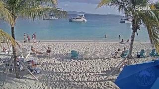 Soggy Dollar Bar Live Webcam - Jost Van Dyke, BVI - Live - Commentated by Prendos Pieces