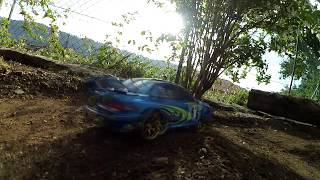 RC Rally Tamiya TL-01 1/10 Subaru Impreza world rally car