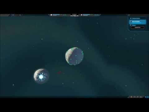 Planetary Annihilation - Death star laser weapon