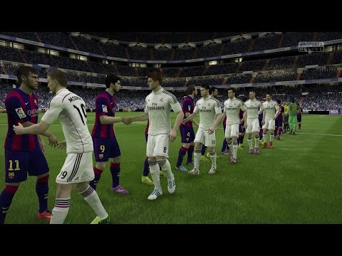 (PS4/Xbox One) FIFA 15 | Real Madrid vs FC Barcelona - Next-Gen FullGameplay (1080p HD)