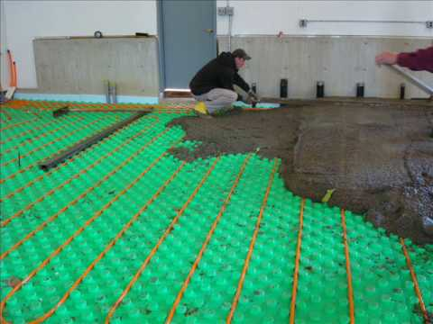 CRETE-HEAT INSULATED FLOOR PANEL SYSTEMS