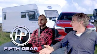 Campervan VS Caravan   Fifth Gear