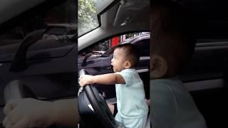 Baby Drives Car