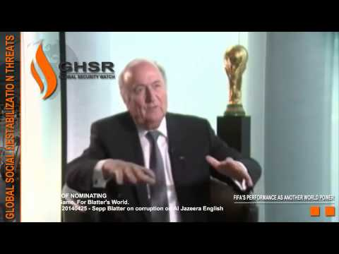 FIFA World Cup   Switzerland   20140425   Sepp Blatter on corruption in FIFA