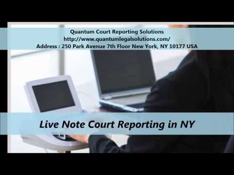 Quantum Court Reporting Services Solutions New York
