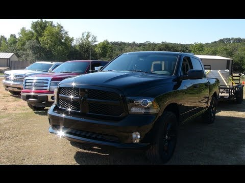 2014 Chevy Silverado vs Ford F-150 vs Ram 1500: Epic V8 0-60 MPH