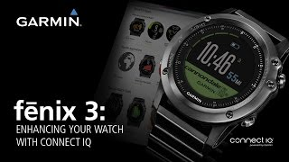 03. fénix 3: Enhancing Your Watch With Connect IQ