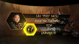 Pro Player Pick: Pdd Picks Jarvan IV