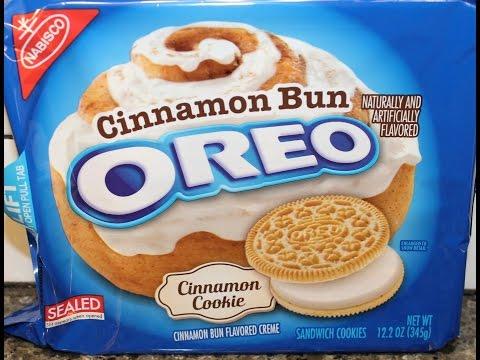 Cinnamon Bun Oreo Cookie Review