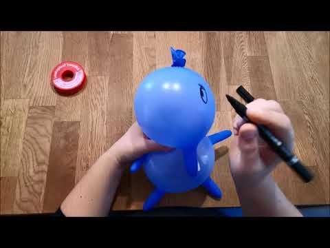 DIY Handschuhelefant Elli Elefant Einweghandschuh