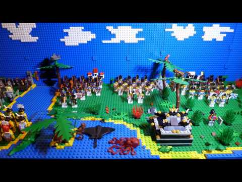 my LEGO Pirates Ninjago Persia Stop Motion Army Collection Movie