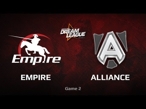 Empire vs Alliance, DreamLeague WB Semifinals, Game 2