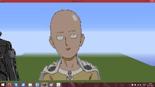 Minecraft Timelapse: One Punch Man