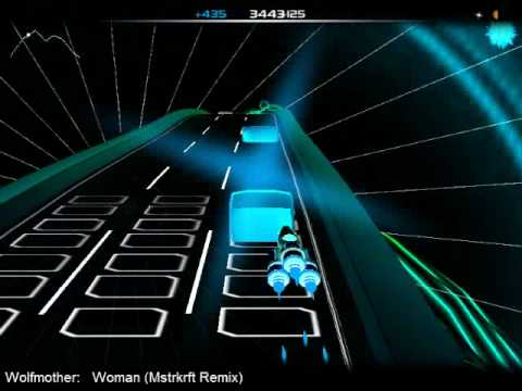 Wolfmother - Woman MSTRKRFT Remix (Audiosurf)