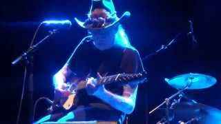 Johnny Winter's Last Performance at the Cahors Blues Festival (France) - Dust my broom - 14/07/2014