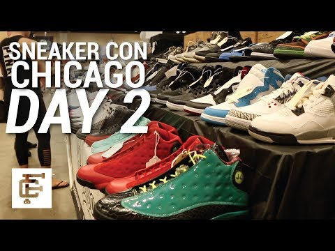 SNEAKER CON CHICAGO DAY 2