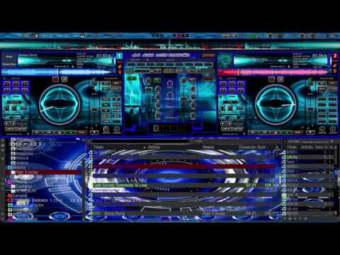 Skin para virtual dj 8 ...BLACKSHEEP HD