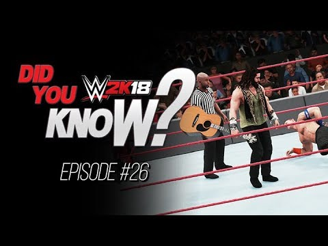 WWE 2K18  Did You Know?: How to use Elias' Guitar, Environmental Moves & More! (Episode 26)