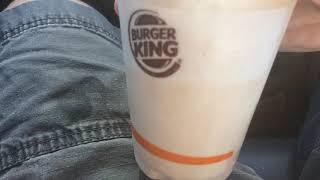 Food and Drink Review #378 Part 2 Burger King Chocolate Milkshake