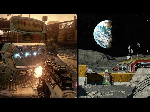 MOON REMASTERED EARLY GAMEPLAY (ZOMBIES CHRONICLES MOON GAMEPLAY)