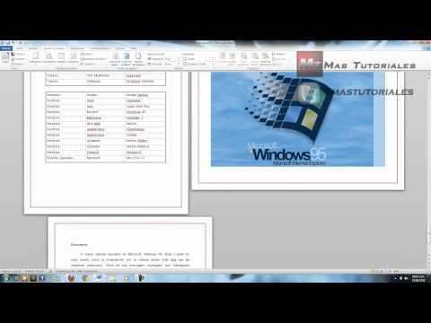 Word 2010 - Tener hojas horizontales y verticales en un solo archivo