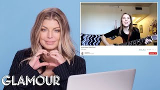 Download Lagu Fergie Watches Fan Covers on YouTube | Glamour Gratis STAFABAND