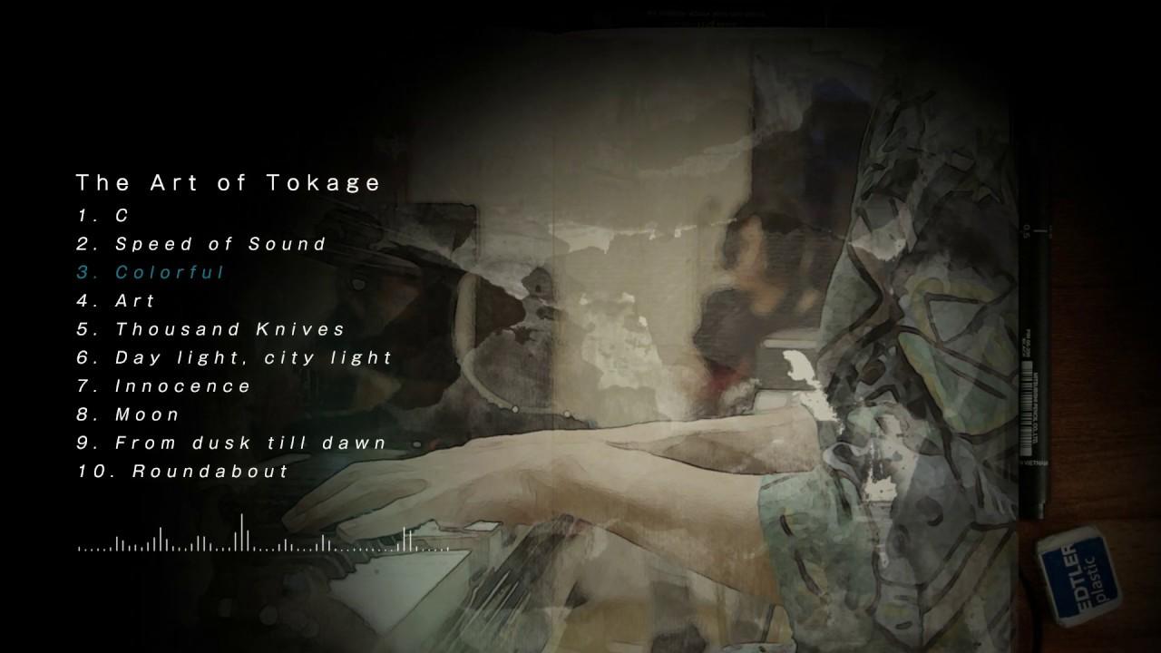"Gecko&Tokage Parade - 全曲試聴Teaser、""Moon""のMVを公開 新譜「The Art of Tokage」2019年12月4日発売 thm Music info Clip"