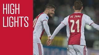 Highlights PEC Zwolle - Ajax