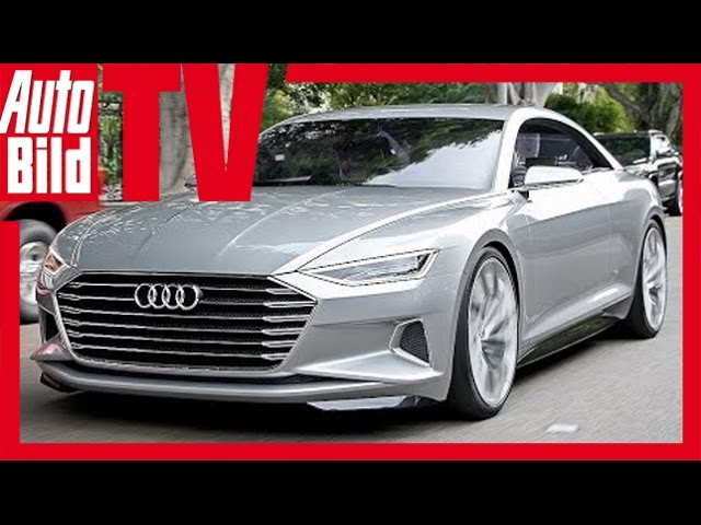 Exklusive First Drive Audi A9 Concept Prologue ... - YouTube