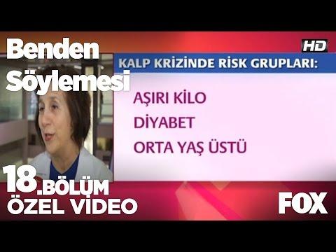 Kalp krizinde risk grupları...Benden söylemesi 18.Bölüm