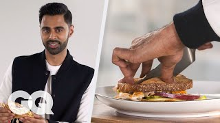 Hasan Minhaj Makes His Signature Sandwich: The Minhaj à Trois | GQ