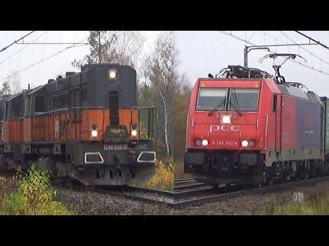 Duet Koziołków AWT, Traxx PCC I Impuls Kolei Śląskich | Częstochowa, 03.11.2018