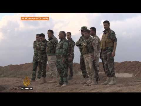 Kurdish forces battle ISIL in northern Iraq