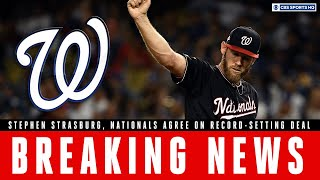 BREAKING NEWS: Stephen Strasburg, Nationals agree on record-breaking deal | CBS Sports HQ