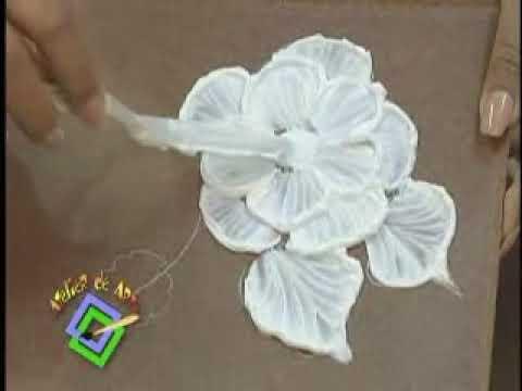 Atelier de Arte - Tecnica de relieve - Baul con flores.wmv