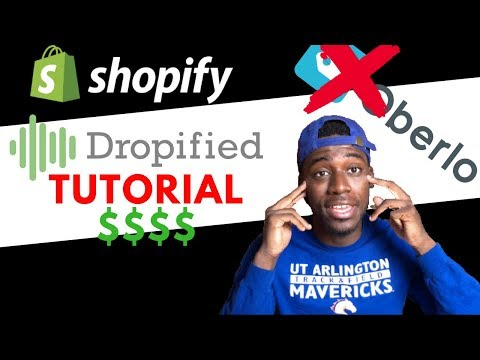 Dropified Tutorial - The App That Automates Your Dropshipping Shopify Store