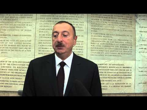 Interview with the President of the Republic of Azerbaijan, Ilham Aliyev