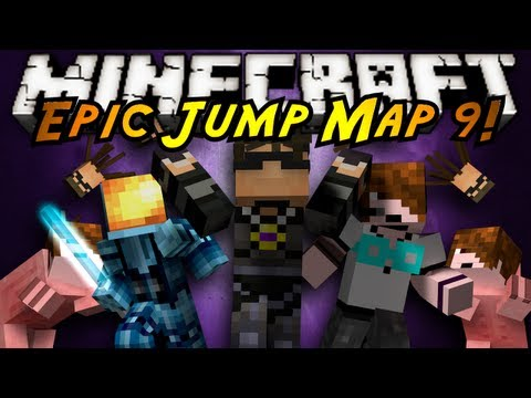 Minecraft: Epic Jump Map Ultimate Trolling Part 2!