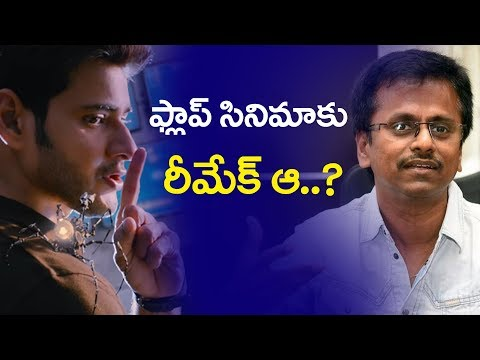 Mahesh babu Remaking A Flop Movie | Mahesh babu New Details | Bharat Today