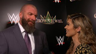 Triple H on what Cain Velasquez and Tyson Fury bring to WWE: Exclusive, Oct. 11, 2019