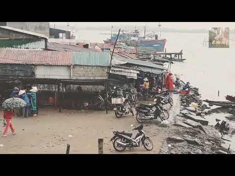 Ngắm Con Đò, Chợ Ven Sông Ở Một Vùng Quê Cửa Việt Quảng Trị dân dã