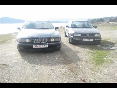 Dibra BMW 523i vs Golf 3 VR6 2.8
