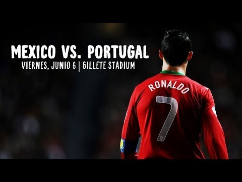 ESPAÑOL: Ronaldo y Portugal vs. Mexico en Boston, MA | Rumbo a Brazil
