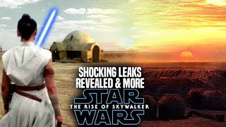 The Rise Of Skywalker Shocking Leaks Revealed! (Star Wars Episode 9)