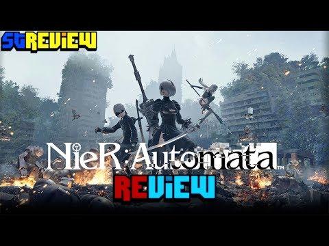 ניר: אוטומטה - ביקורת - NieR:Automata - Review - Hebrew