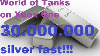 World of Tanks on Xbox One 30 000 000 silver fast!!! FCM 50t gameplay