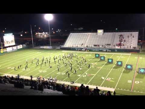 Tahlequah High School Orange Express halftime performance 10-17-13