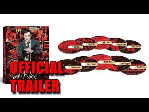 Tarantino Xx 8-film Collection Blu-ray video