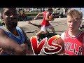 OSN vs FAMOUS HOOPER TRISTAN JASS! 360 LAYUPS & 1 ON 1