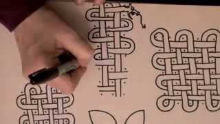 ASMR Style tutorial: Celtic Knotwork 1 (Celtic knot work, whispering, drawing, triggers, YouTube)
